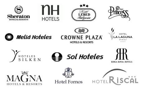 Logos de hoteles